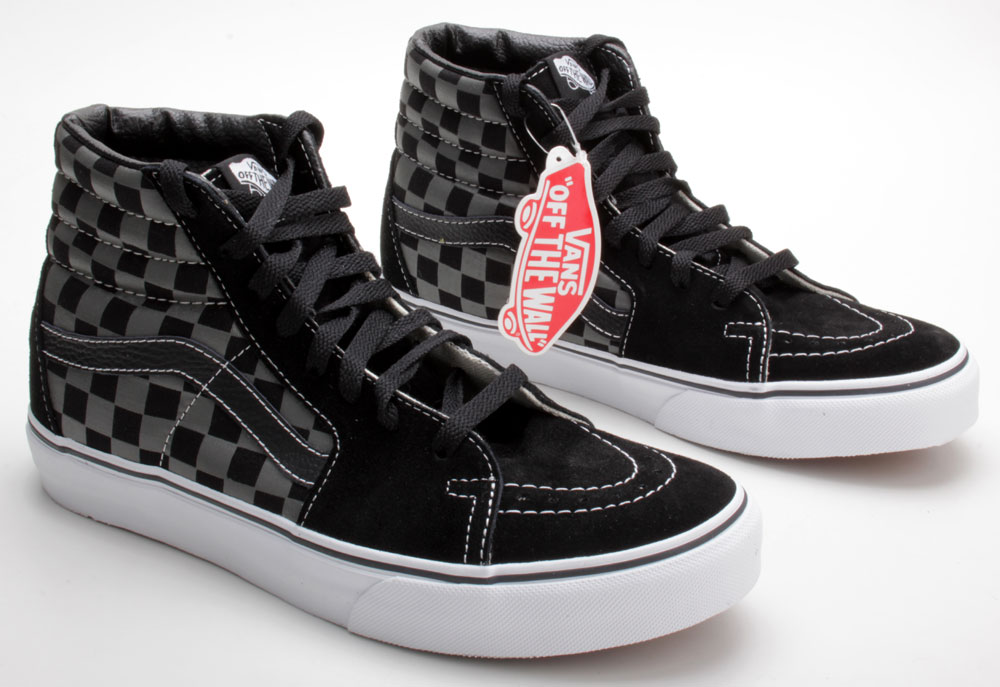 Index of  eBay eBaySHOP Vans Sk8-HI Black Pewter Checkerboard 1ec373cfa
